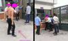 Học sinh chặn, đánh thầy ở cổng trường
