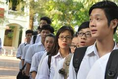Hà Nội: Thí sinh chỉ thi tốt nghiệp được lựa chọn cụm thi