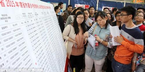 Choáng ngợp trước cảnh xếp hàng thi công chức ở TQ