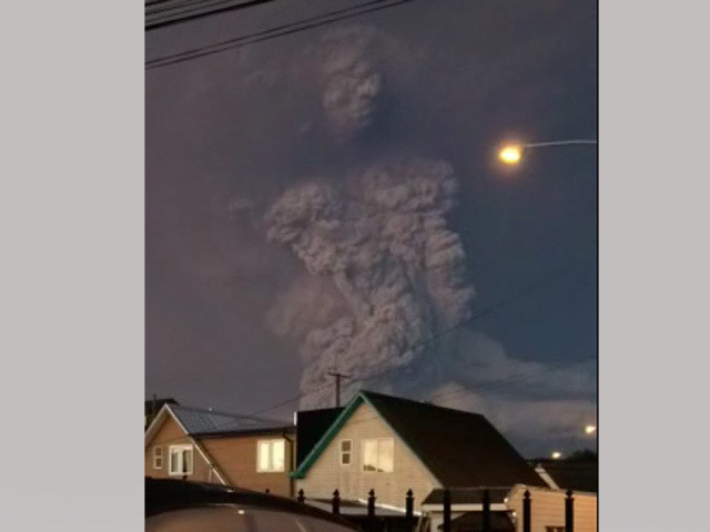 núi lửa Chile, thần khổng lồ, sơn thần