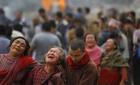 Số người chết vì động đất Nepal vọt lên hơn 3.000