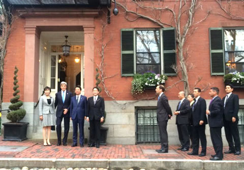 John Kerry, Abe, Harvard