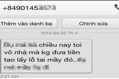Mua hàng trực tuyến, một phụ nữ bị dọa xẻo tai