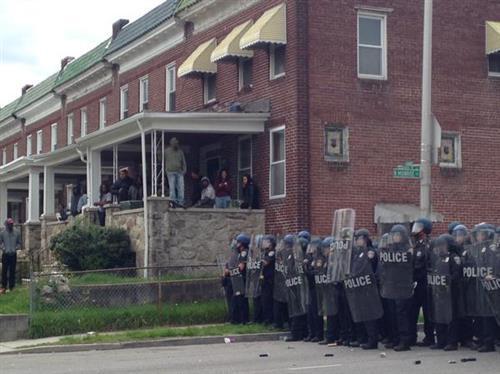 bạo đông, Baltimore, Maryland