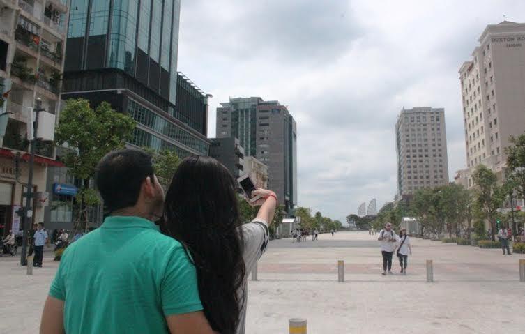 phố đi bộ, trung tâm, Sài Gòn, vận hành, nhạc nước, quận 1