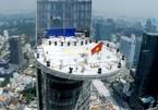 Khai hoả 20.000 giàn pháo hoa trên toà nhà cao nhất Sài Gòn