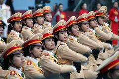 CLIP: Mít tinh, diễu binh mừng 40 năm thống nhất