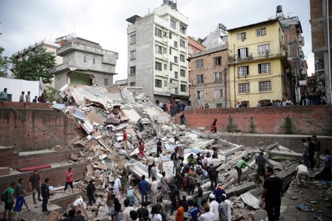 Đoàn Hồng Thập Tự Việt Nam tháo chạy khỏi Nepal khi xảy ra động đất