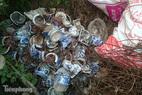 Hà Nội: Hơn 300 ngôi mộ bị đập vỡ bát hương