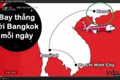 """VTV nhầm lẫn """"dời"""" thủ đô Hà Nội sang Trung Quốc"""