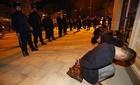 Hình ảnh cảnh sát TQ triệt phá ổ bán hàng đa cấp
