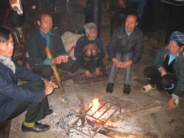 bản Sín Chải, Sapa, Lào Cai, trường thọ