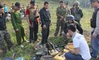 Cảnh sát đấu súng với 28 tên tội phạm ma túy