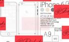 Lộ cấu hình iPhone 6S với camera selfie 5 chấm