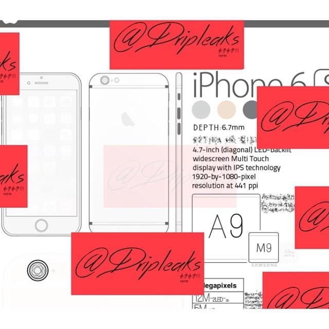 iPhone 6S, Apple, lộ diện, rò rỉ, Trung Quốc, hình ảnh, cấu hình, camera trước