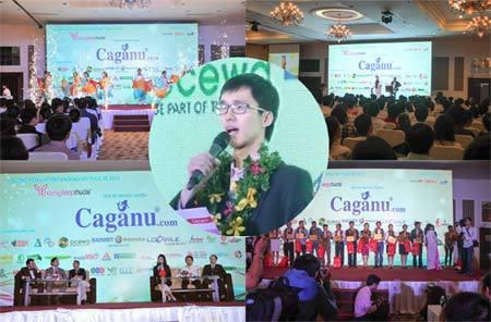 Nguyễn Quang Huy CEO Caganu - khát vọng Amazon Việt Nam