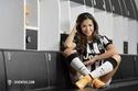 Nàng thơ Madrid cổ vũ Juve đả bay Real