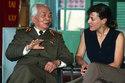 Nữ nhà báo Mỹ tháp tùng Đại tướng về lại chiến trường