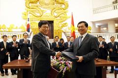 Chính thức ký Hiệp định thương mại tự do Việt - Hàn