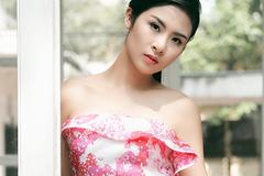 Hoa hậu Ngọc Hân ngày càng đẹp lên