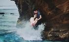Ảnh cưới tại đảo Lý Sơn đẹp như tranh vẽ của bộ đôi Hà thành