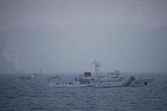 CLIP: Cận cảnh Việt-Trung tuần tra chung trên biển