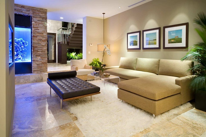 Phong thủy cho phòng khách: Nguyên tắc kê sô pha