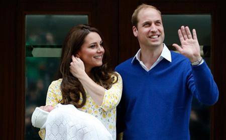 Giấy khai sinh đặc biệt của công chúa nhỏ nước Anh