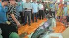 Phát hiện xác cá voi nặng 500kg trôi dạt vào bờ