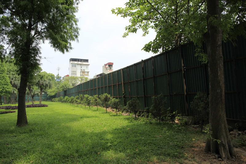 Hình ảnh bất ngờ nơi HN định làm bãi đỗ xe ngầm - 12