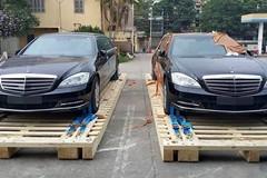 Bộ đôi limousine Mercedes chống đạn đầu tiên về Việt Nam