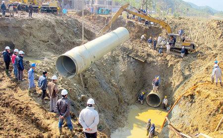 'Kỳ tích đen' 10 lần vỡ ống nước sông Đà của Vinaconex