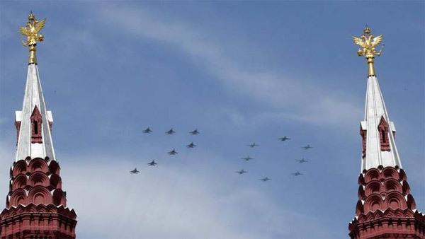 Nga, duyệt binh, vũ khí, chiến thắng phát xít