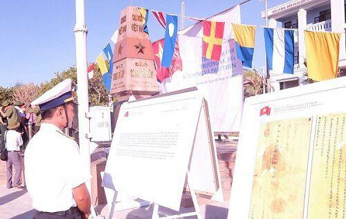 Trưng bày chủ quyền Hoàng Sa, Trường Sa tại đảo Song Tử Tây