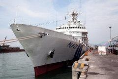 Tàu khủng của Cảnh sát biển Nhật đến VN