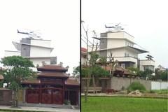 Trực thăng đậu trên nóc nhà đại gia Việt