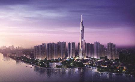 Sắp ra mắt quần thể sở hữu tòa tháp cao nhất Việt Nam