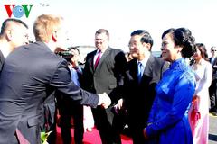 Chủ tịch nước thăm CH Séc