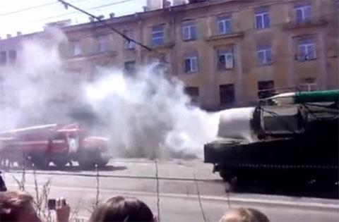 Sự lạ, sự cố trong lễ duyệt binh hoành tráng ở Nga