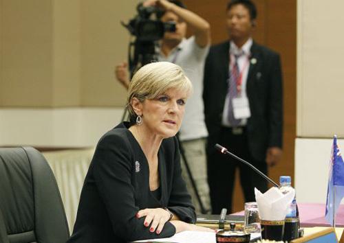 Australia giục TQ không độc quyền không phận Biển Đông