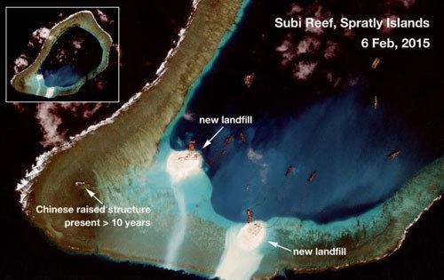 Biển Đông, Trường Sa, TQ, ASEAN, vùng đặc quyền kinh tế, đường 9 đoạn