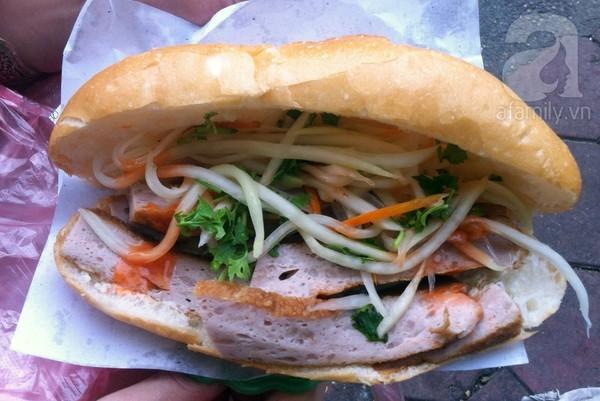 10 hàng <strong>bánh mì ngon</strong> nức tiếng ở Hà Nội