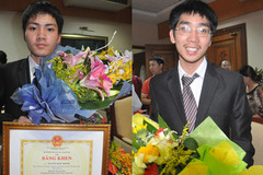 Tiết lộ bất ngờ về hai huy chương Vàng Vật lý châu Á