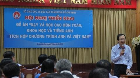 TP.HCM sẽ dạy học tiếng Anh tích hợp diện rộng