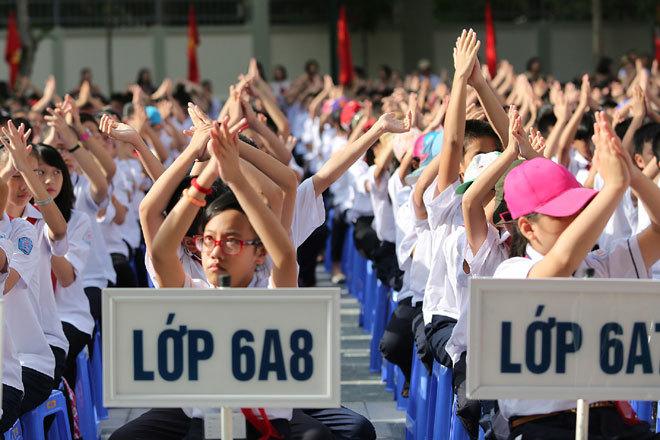 tuyển sinh lớp 6, THCS, Văn Như Cương, đổi mới giáo dục