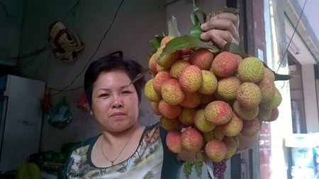 Hà Nội: Vải thiều đầu mùa 'hét' 90.000 đồng/kg