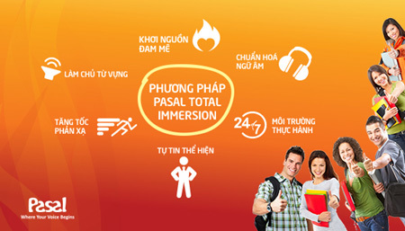 Học tiếng Anh giao tiếp trong 6 tháng với Pasal Total Immersion