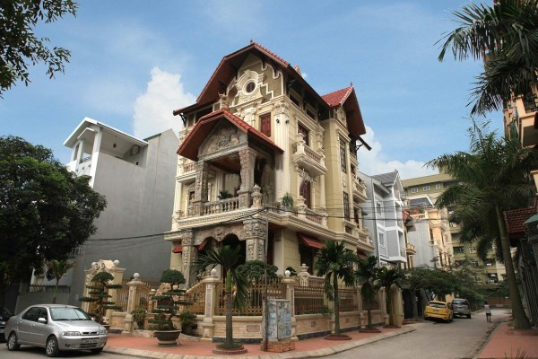 Biệt thự phong cách Pháp của đại gia Hà Nội