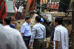 Tai nạn, vỡ ống nước lập tức có mặt lãnh đạo HN