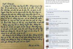 Sự thật về bức thư Lưu Quang Vũ gửi Xuân Quỳnh xôn xao dư luận